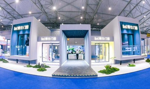 首届中国(成都)门窗博览会现场直击 博仕门窗展厅亮点多