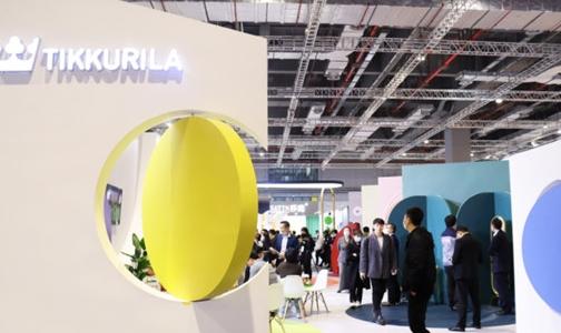 芬琳漆高調亮相上海建博會,全面發力高端涂料市場