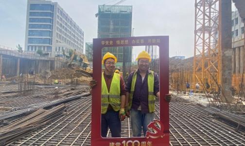 中建商砼将关爱和红色力量送进一线