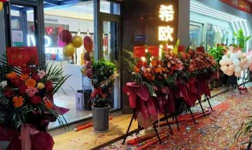 热烈祝贺希欧门窗湖南怀化鹤城店开业大吉