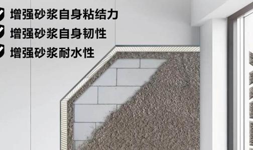 让装修砂浆老不可破的神物 ― 西卡胶皇砂浆添加剂