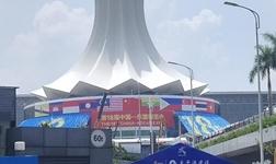 第18屆中國--東盟博覽會今日開幕,中國建筑材料流通協會會長秦占學接受專訪!