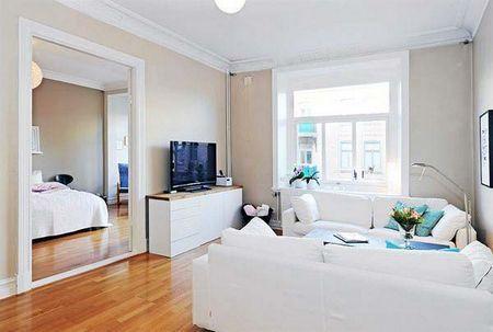 全色堂_浅奶咖色墙面效果图 奶咖色墙面配什么颜色的家具