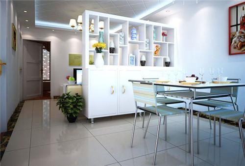 客厅和餐厅酒柜式隔断 家里客厅摆放哪种酒柜比较好?