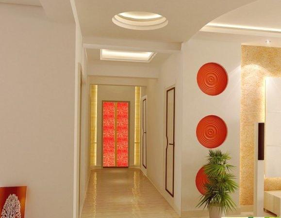 >过道柜子效果图大全 移门衣柜效果图大全     1,光照   光照是走廊的