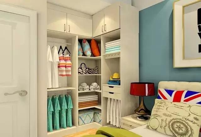 一,大卧室衣柜直角设计怎样美观实用装修效果图