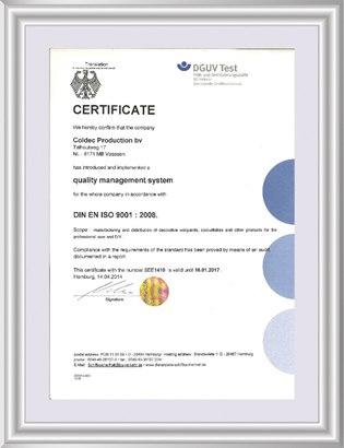 德国DIN标准及ISO9001标准认证