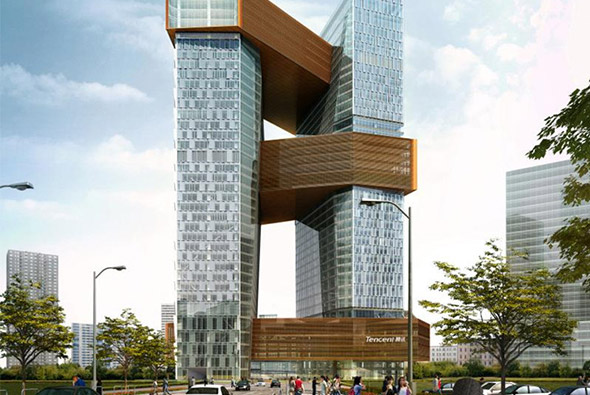 深圳腾讯滨海大厦
