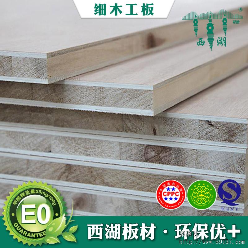 各种类型木工板