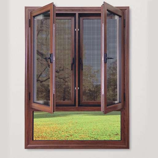 铝合金断桥窗、幕窗 欧式时尚实用窗