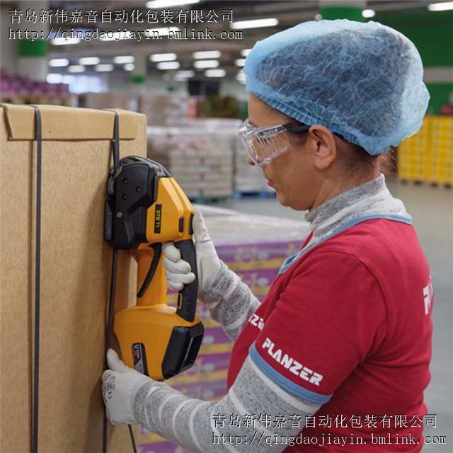 栈板行业选用的电动打包机STB-73