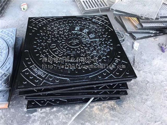 安徽安庆球墨铸铁圆形井盖厂家直销