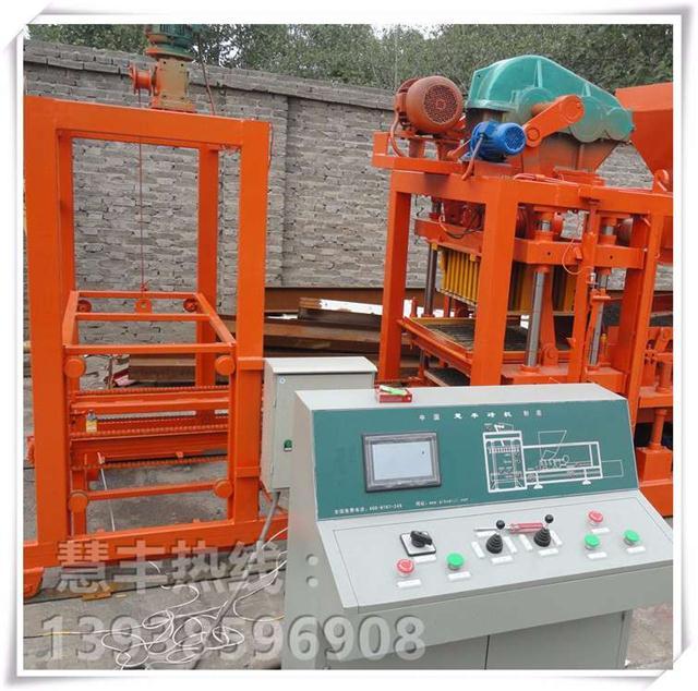 大小型免烧水泥砖机 全自动液压制砖机 多功能砌块成型机