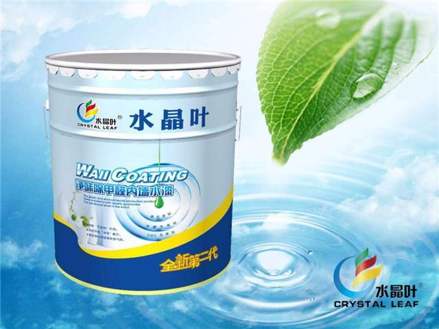 水晶叶除甲醛内墙白色乳胶漆纯环保净味家装水漆面漆涂料厂家直销