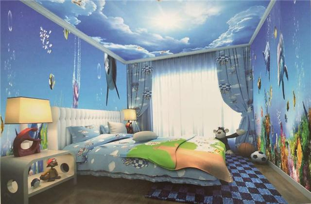 """童话世界--""""四季光明""""3D打印儿童房"""