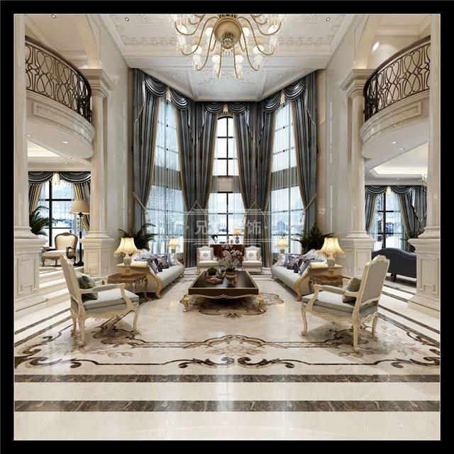 欧式风格的别墅设计给人一种高贵典雅的感觉,当然它不仅仅是一种外在