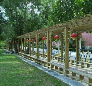 供西宁防腐木花架和青海园林绿化