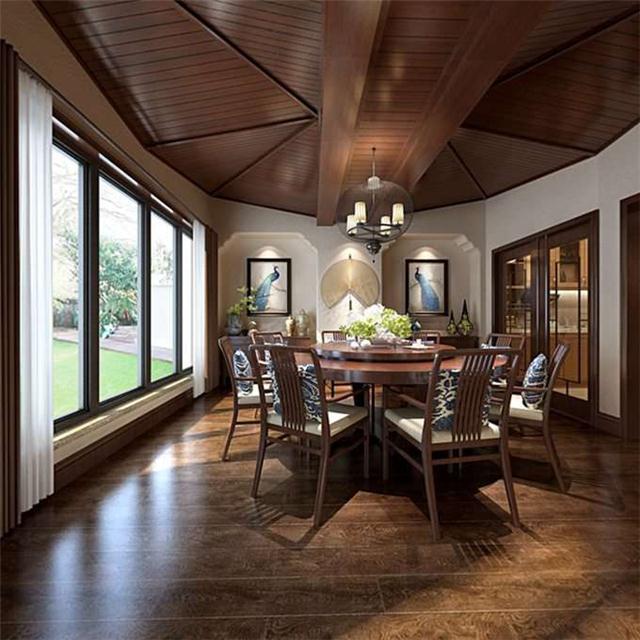 高屋林语堂装修效果图丨重庆院式庭院别墅设计