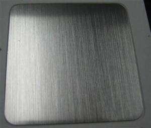 无指纹黑钛金拉丝不锈钢板