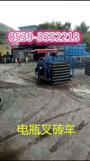 水泥砖电瓶叉车运砖车