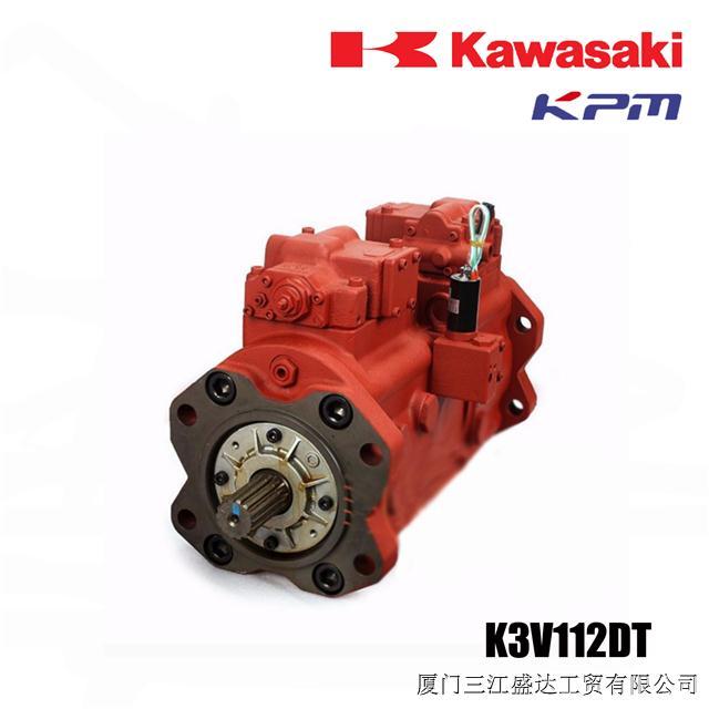 kawasaki日本川崎液压泵 适用国产车 k3v112dt 授权一级代理商图片