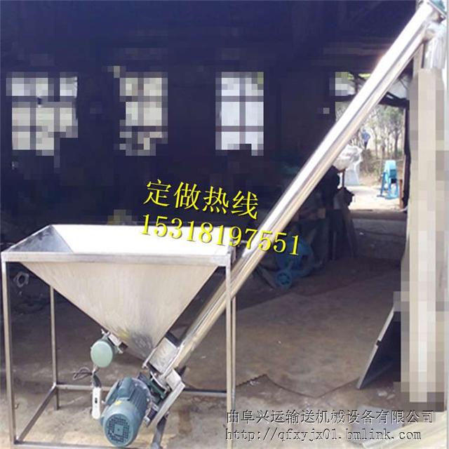 广水无轴螺旋上升机 销售供应螺旋机厂家