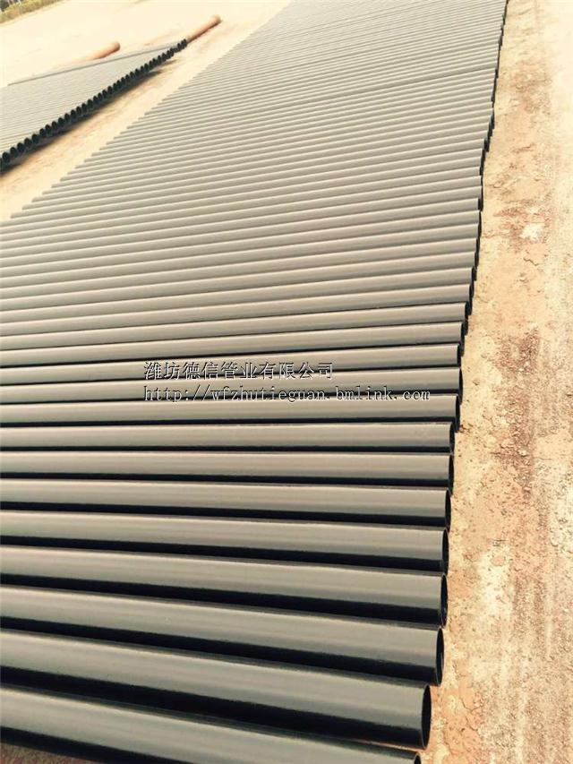 湖北武汉卡箍式W型柔性接口铸铁排水管厂家