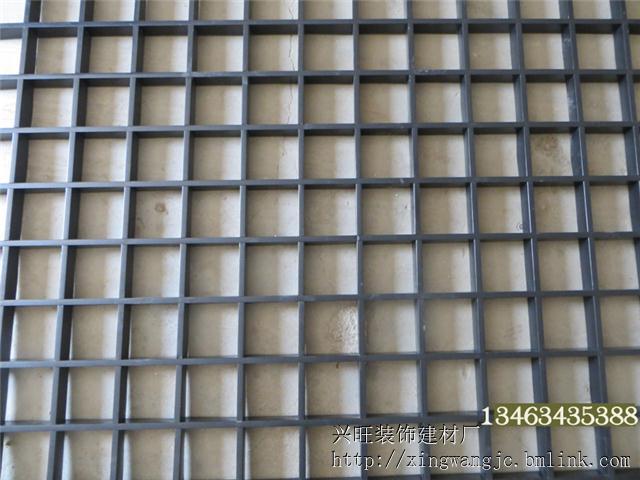 铝格栅生产订做 铝格栅价格兰州铝格栅厂家