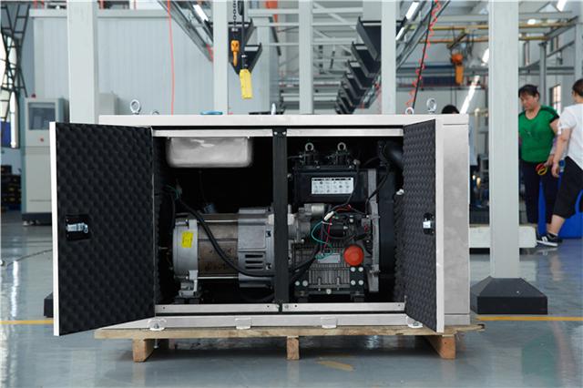 欧洲狮小型20kw交流柴油发电机重量