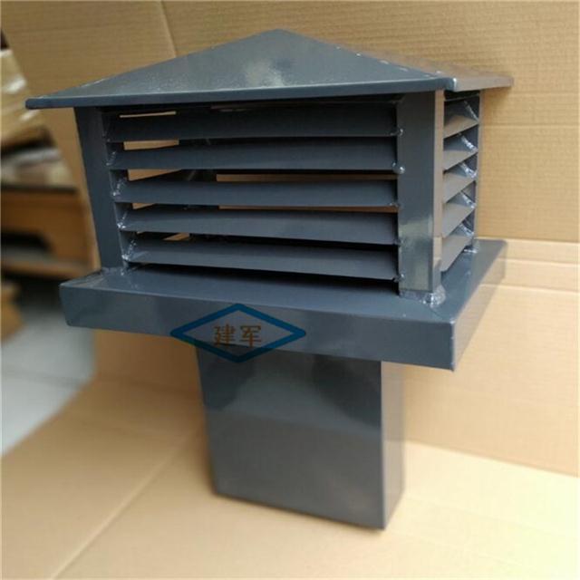 楼房别墅烟囱排烟帽铝合金排气冒烟囱帽厂家