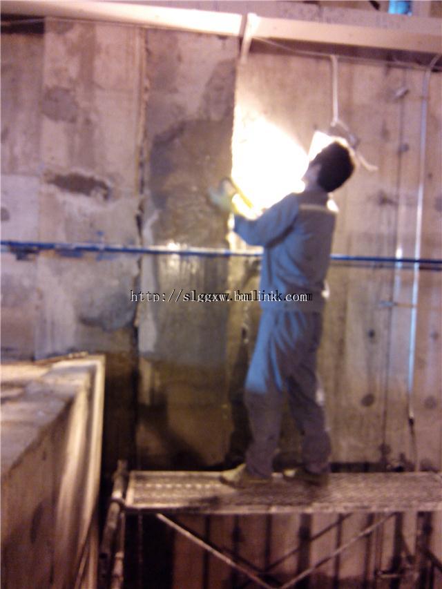 水富市新建水池底板补漏,断裂缝渗水堵漏