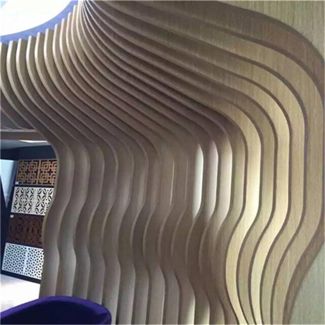 三门峡 木纹铝方通隔断 外墙铝方通订做 型材铝方通厂家