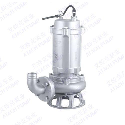 广东东莞带切割不锈钢潜水泵厂家精挑细选艾特克泵业有限公司
