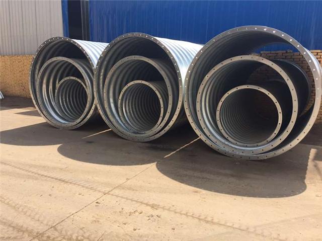 邯郸大口径波纹涵管 钢波纹管涵施工 管廊结构排水