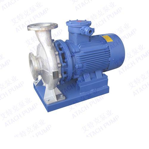 ISWH150-125A单级单吸卧式端吸清水不锈钢离心泵