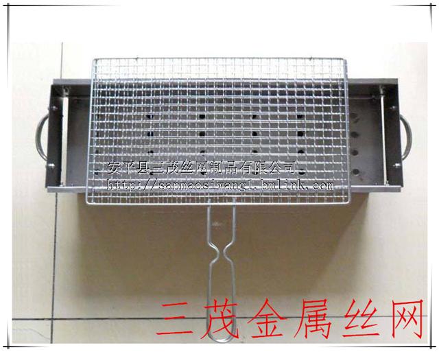直销浙江304不锈钢烧烤网   烧烤网片