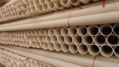 青海PVC波紋管,海東110PVC穿線波紋管批發價格