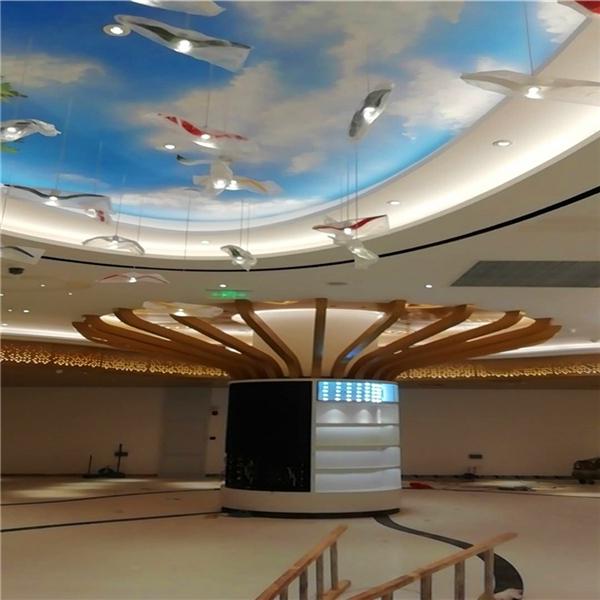 机场3D艺术幕墙铝单板建筑、3D造型铝单板