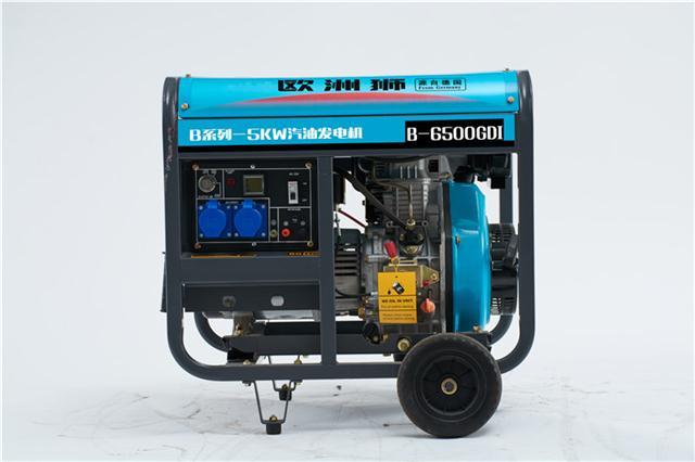 5KW汽油发电机B-6500GDI