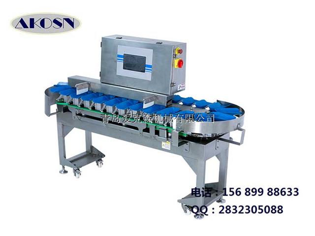 药材自动重量分级机,三七天麻分选机优质设备爱克森生产