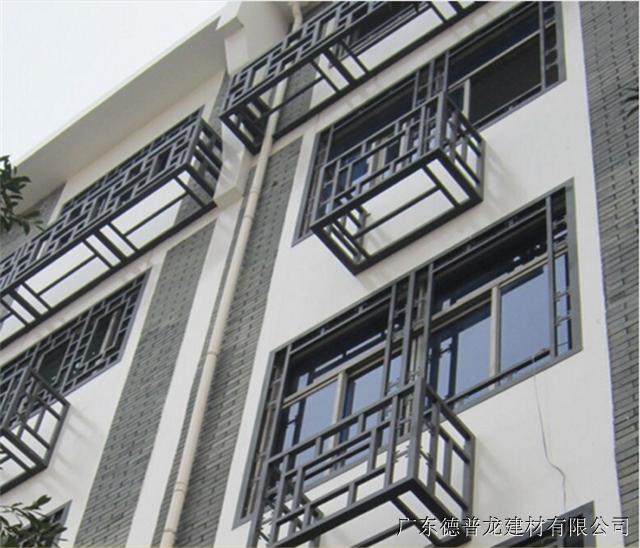 南宁步行街街道改造复古铝窗花价格厂家定制价格
