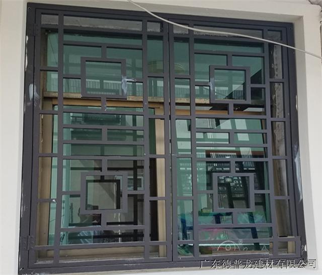 萍乡市步行街街道改造铝窗花厂家直销/复古/木纹/仿古铝窗花