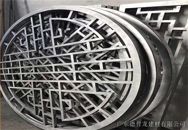 萍乡市步行街街道改造铝窗花厂家直销/复古/木纹仿古铝窗花