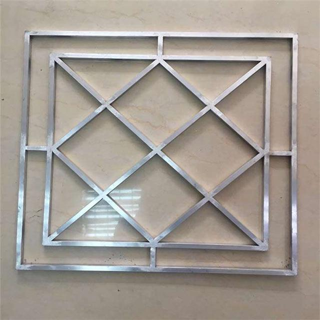 德普龙铝窗花 仿木纹铝窗花 按要求定制