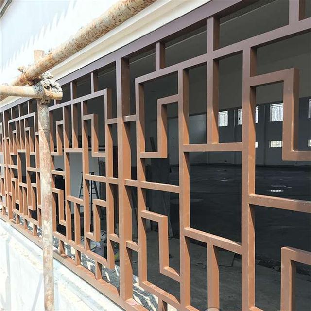 供应景德镇街道改造仿古铝窗花_铝合金窗花厂家