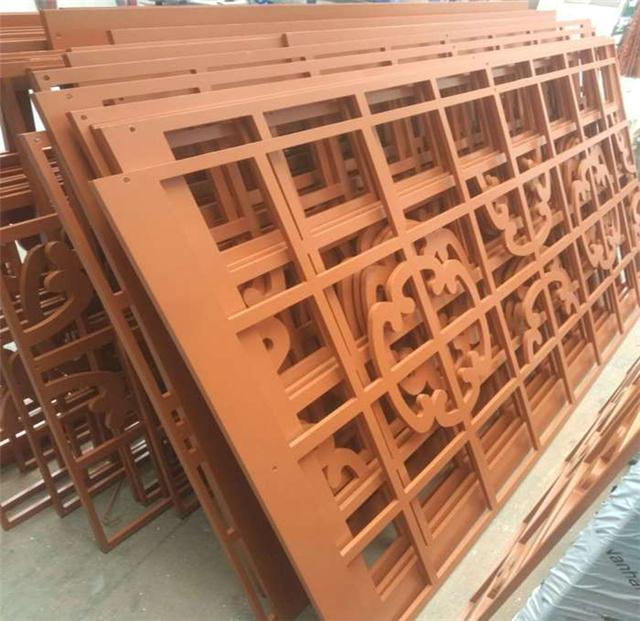 厂家专业定制南宁街道改造铝窗花|仿古铝窗花厂家直销