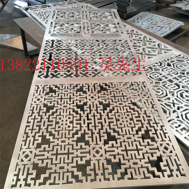仿木纹铝花格/型材铝窗花/供应商镂空铝窗/花厂家