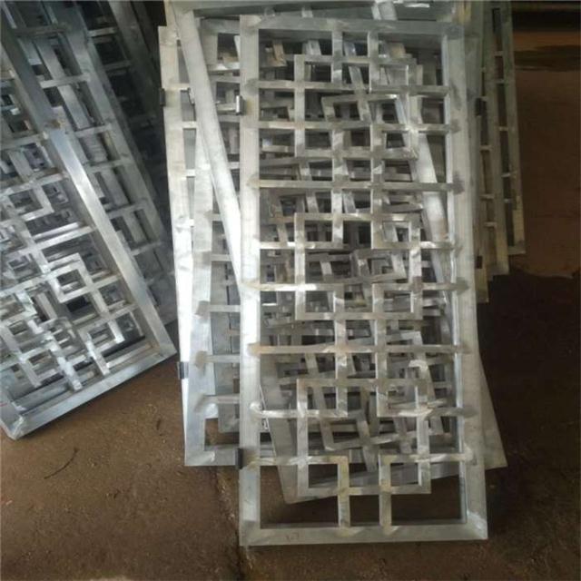 广东德普龙专业定制仿古铝窗花, 古建铝窗花厂家