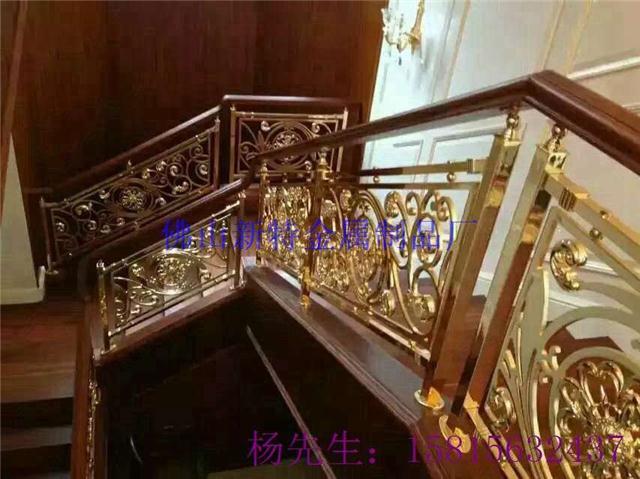 致力做出优质艺术楼梯铜栏杆,铝艺护栏,铝板雕刻护栏,欧式旋转楼梯,仿图片