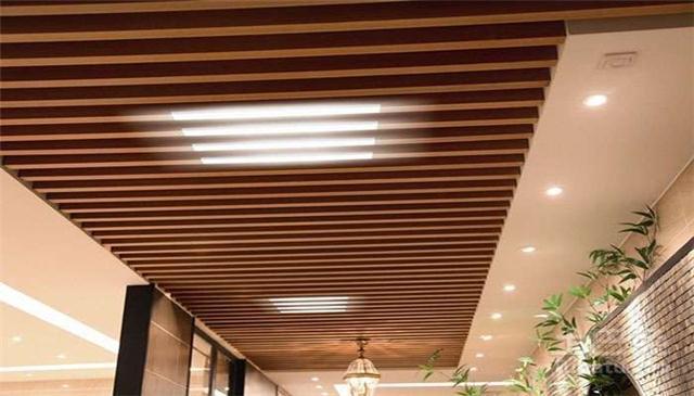 供应铝方通吊顶装饰,木纹铝方通厂家